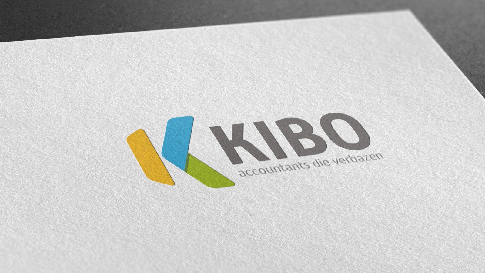 Kibo merkconcept visitekaartje