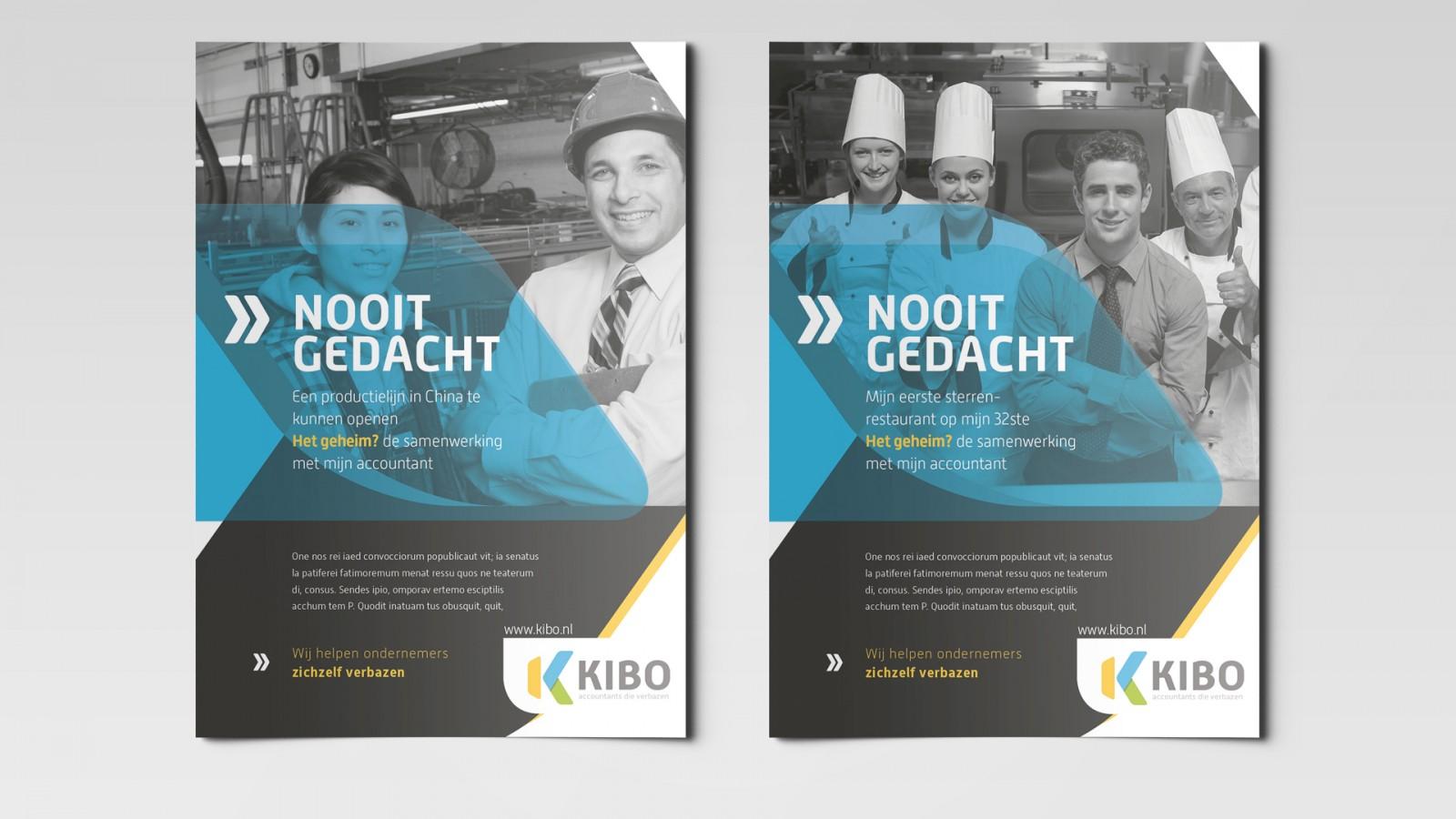 Kibo merkconcept flyer