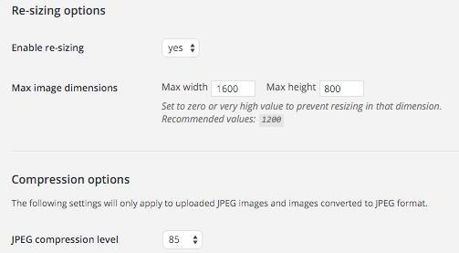 Resize After Upload: Afbeeldingen optimaliseren voor WordPress