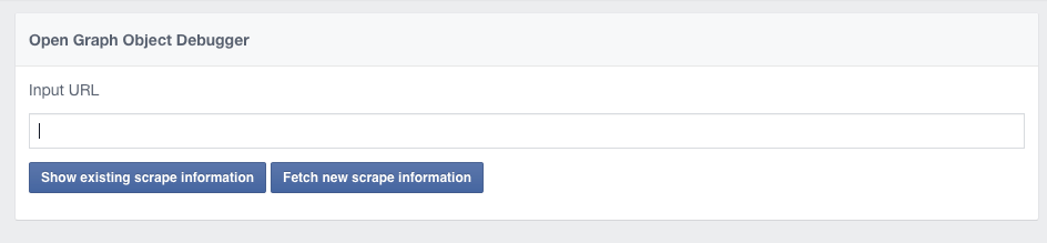 Open Graph Object Debugger om verkeerde afbeelding bij Facebook Link te wijzigen