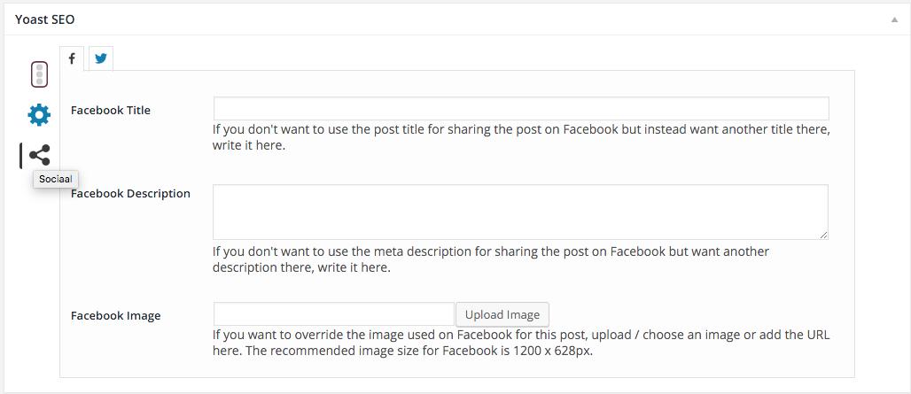 Facebook link optimaliseren met Yoast SEO