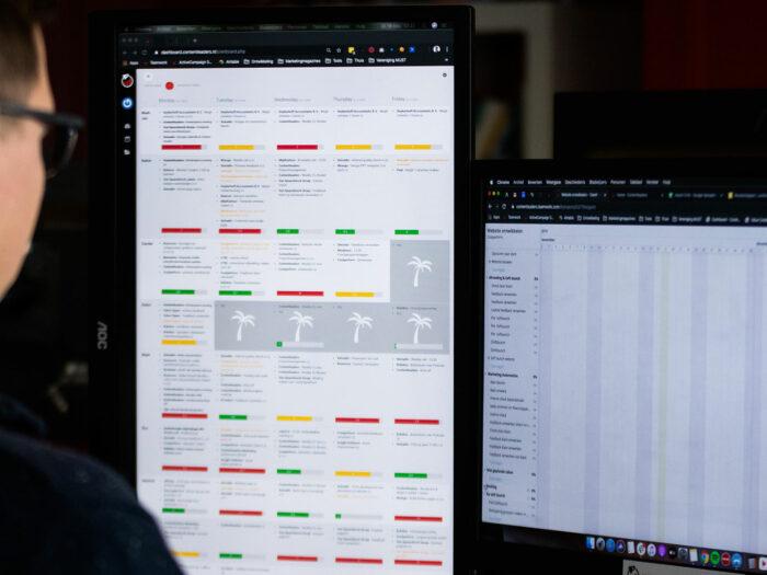 Plannen bij Contentleaders: Tetris voor gevorderden