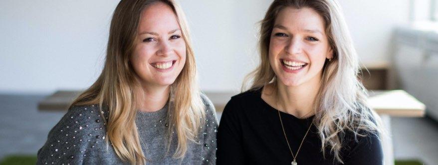 Lotte en Maritt geven de webinar
