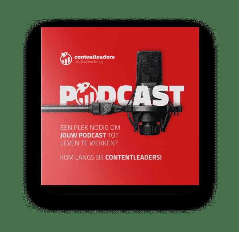 Podcast Leaflet front