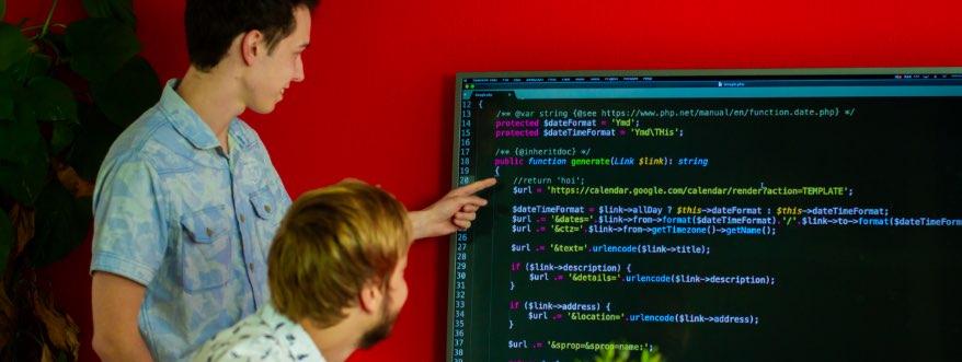 Webdevelopment bij Contentleaders