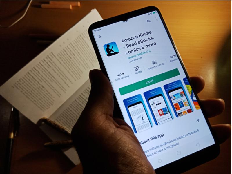 Voorbeeld crisis marketing Amazon Kindle