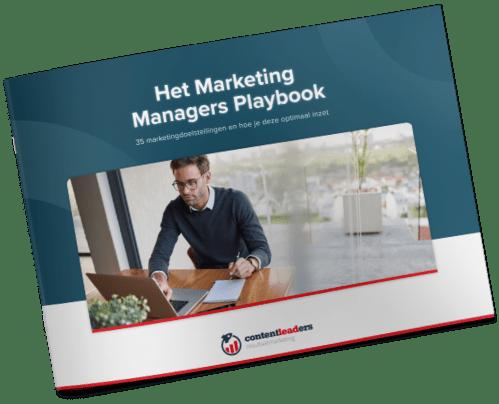 Het Marketing Managers Playbook