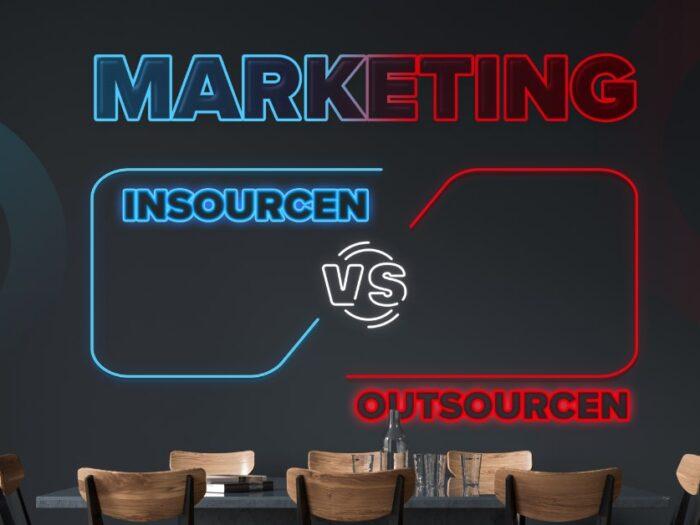 Marketing insourcen vs. marketing outsourcen