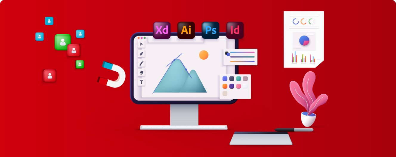 Grafisch ontwerper bij Contentleaders